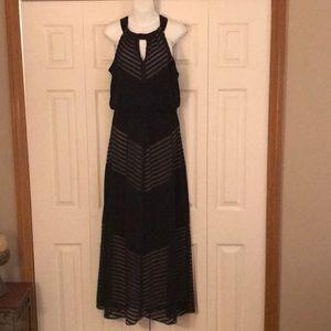 Like new London Times black maxi dress